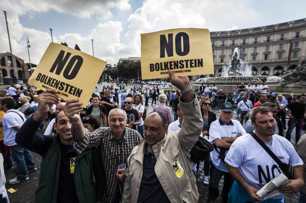 Proteste Bolkestein: i segnali di un vaso ormai colmo.