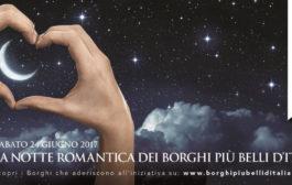 Il 21 e 24 giugno Castel Gandolfo ospita l'evento nazionale della II edizione della Notte Romantica nei Borghi più Belli d'Italia