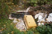 Contrasto all'abbandono dei rifiuti, sequestrate due aree a Rocca di Papa