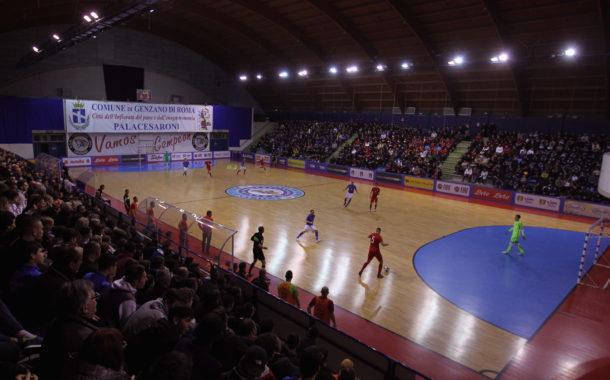 Futsal: Genzano ospita la Nazionale, Polonia dominata e grande spettacolo sugli spalti