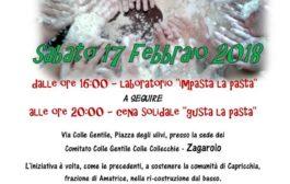 Evento solidale 17 febbraio 2018