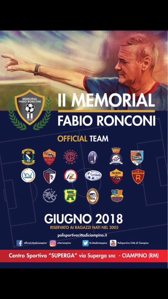 Al Superga torna il Memorial Ronconi