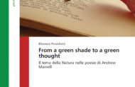 """""""FROM A GREEN SHADE TO A GREEN THOUGHT"""": eventually, the work of Eleonora Persichetti on Andrew Marvell is now on the road"""