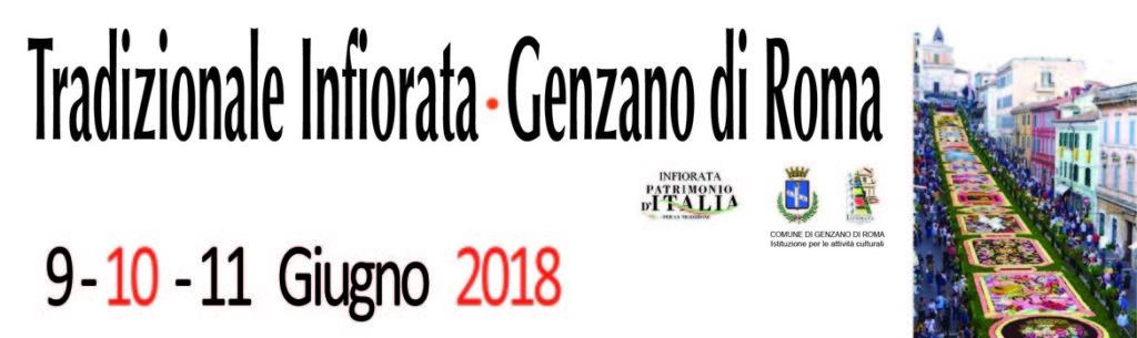 240' Infiorata di Genzano di Roma: 9,10 e 11 Giugno 2018