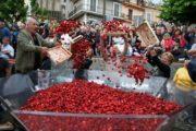 Nemi festeggia il 2 giugno tra tradizione e fragole