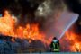Incendio discarica Roncigliano: nuovi dati Arpa sulla qualità dell'aria