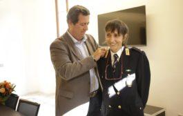 La Dott.ssa Maria Letizia SCUDERINI promossa al grado di Tenente Colonnello