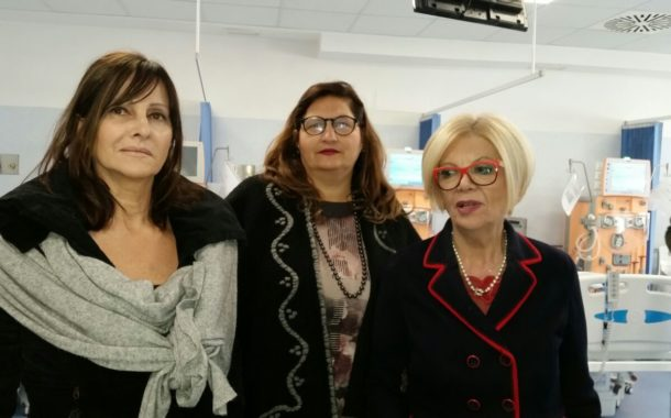 Villa Nina: inaugurato il nuovo reparto di Dialisi intitolato al prof. Ruggiero, fondatore della clinica