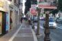 Albano: lampioni del corso utilizzati tutto l'anno come paline pubblicitarie
