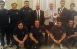 Frascati, encomio per il Frascati Rugby Club