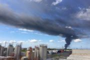 Eco X in fiamme a Pomezia: la nube invade i Castelli Romani