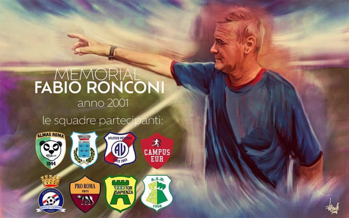 Memorial Ronconi, la prima edizione al via. Si parte con i 2001