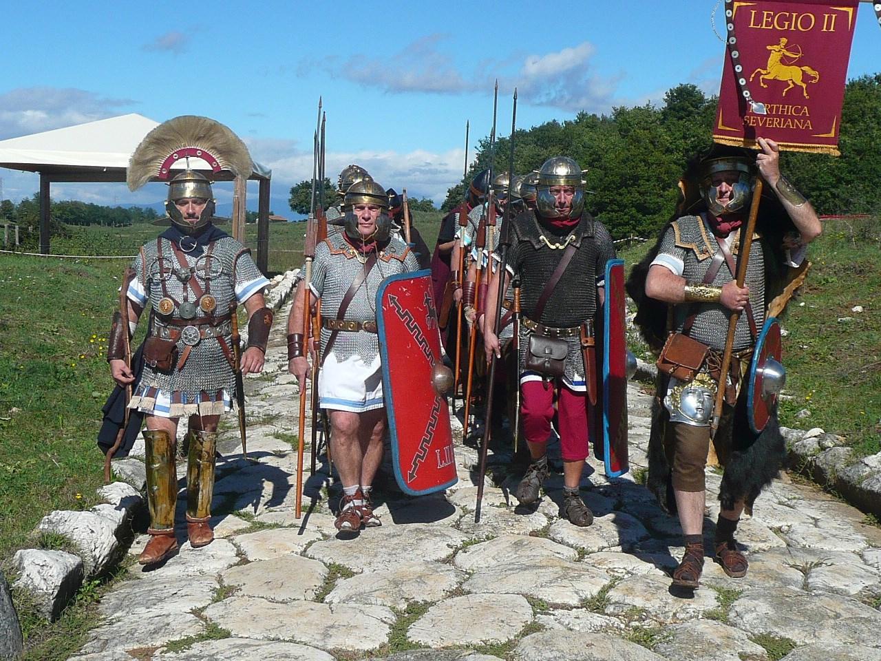 10-11 giugno 2017: le legioni romane alla conquista dei Castelli!
