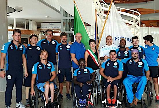 Parte dal lago di Castel Gandolfo la spedizione azzurra ai mondiali di canoa. E la paracanoa parla castellano