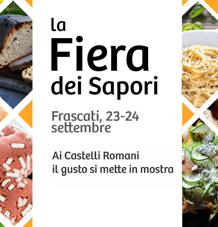 A Frascati la Fiera dei Sapori ospita la grande enogastronomia dei Castelli Romani
