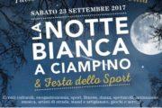 Tutto pronto per la notte bianca a Ciampino Appuntamento il 23 settembre