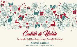 La magia delle feste prende vita ad Albano Laziale con Castelli di Natale