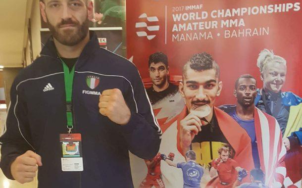 L'Istruttore Daniele Matiddi protagonista ai Mondiali di MMA in Bahrein
