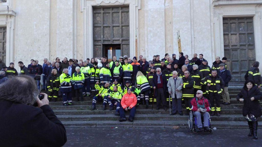 La Comunità marinese dice GRAZIE ai suoi Pompieri e li festeggia nel 125° dalla nascita del Corpo.