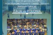 GENZANO OSPITA LA NAZIONALE ITALIANA DI CALCIO A 5