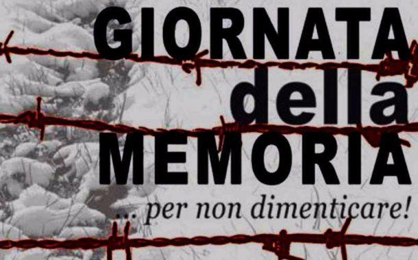 Marino, Giorno della Memoria: il programma dell'associazione Senza Frontiere Onlus