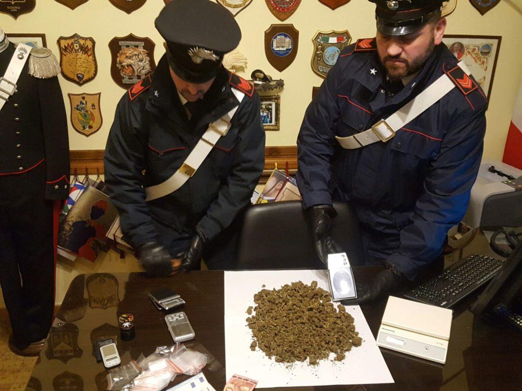 - La marijuana sequestrata dai Carabinieri