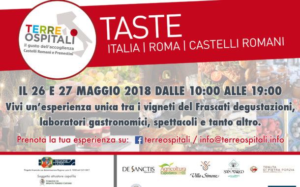 """""""FESTA DEL VINO OSPITALE"""" 26 E 27 MAGGIO 2018"""