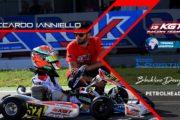 Riccardo Ianniello sul podio del Trofeo Città di Viterbo