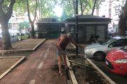 Piste ciclabili, aiuole e parchi: i volontari di Cinecittà migliorano il quartiere