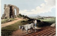 Il monumento rotondo scomparso e il sacrario della Gens Giulia a Boville