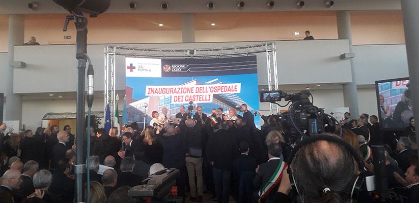 Nuovo Ospedale dei Castelli: finalmente l'inaugurazione!