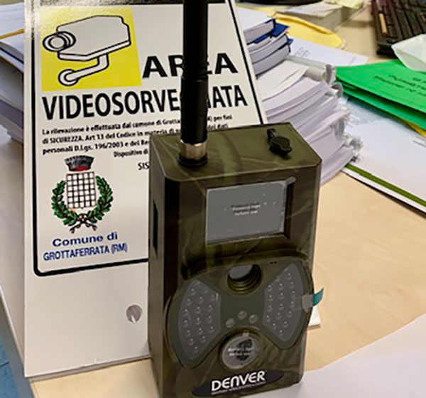 Grottaferrata, installate telecamere e fototrappole a presidio del territorio. Presto nuovi bandi per l'assegnazione dei fondi