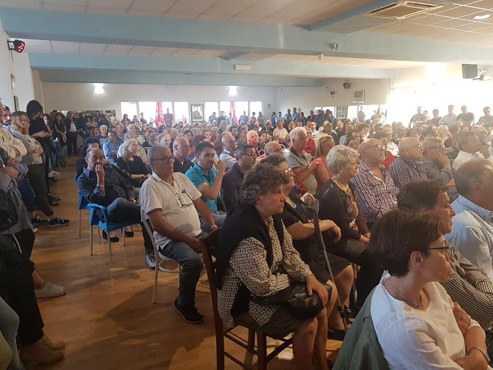 Marino, in 600 per la presentazione del progetto civico di Stefano Cecchi