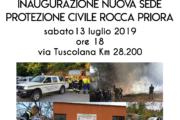 Nuova sede per la Protezione Civile
