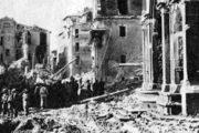 8 SETTEMBRE,ANNIVERSARIO DEL DEVASTANTE BOMBARDAMENTO DI  FRASCATI DEL 1943