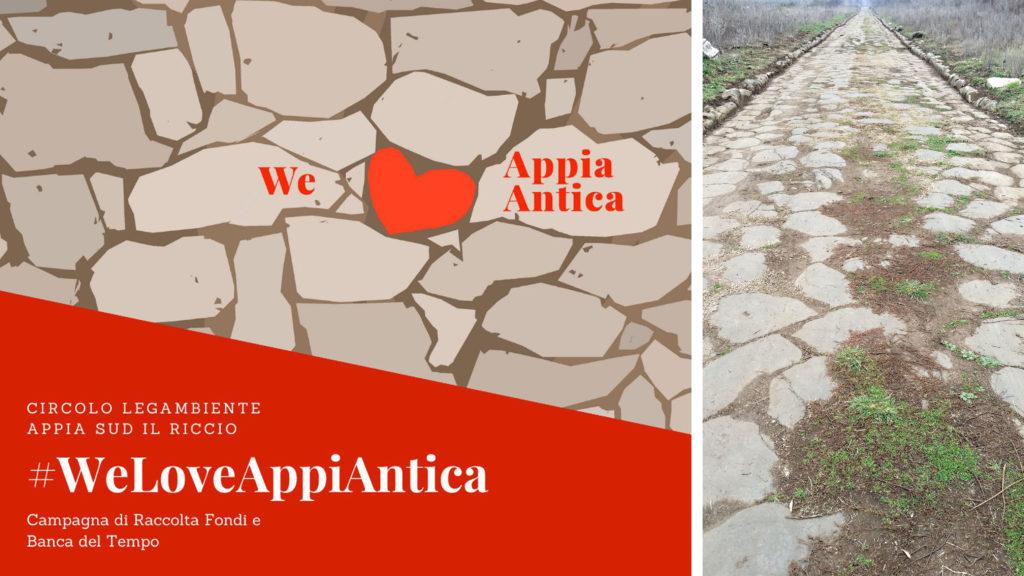 #WeloveAppiAntica