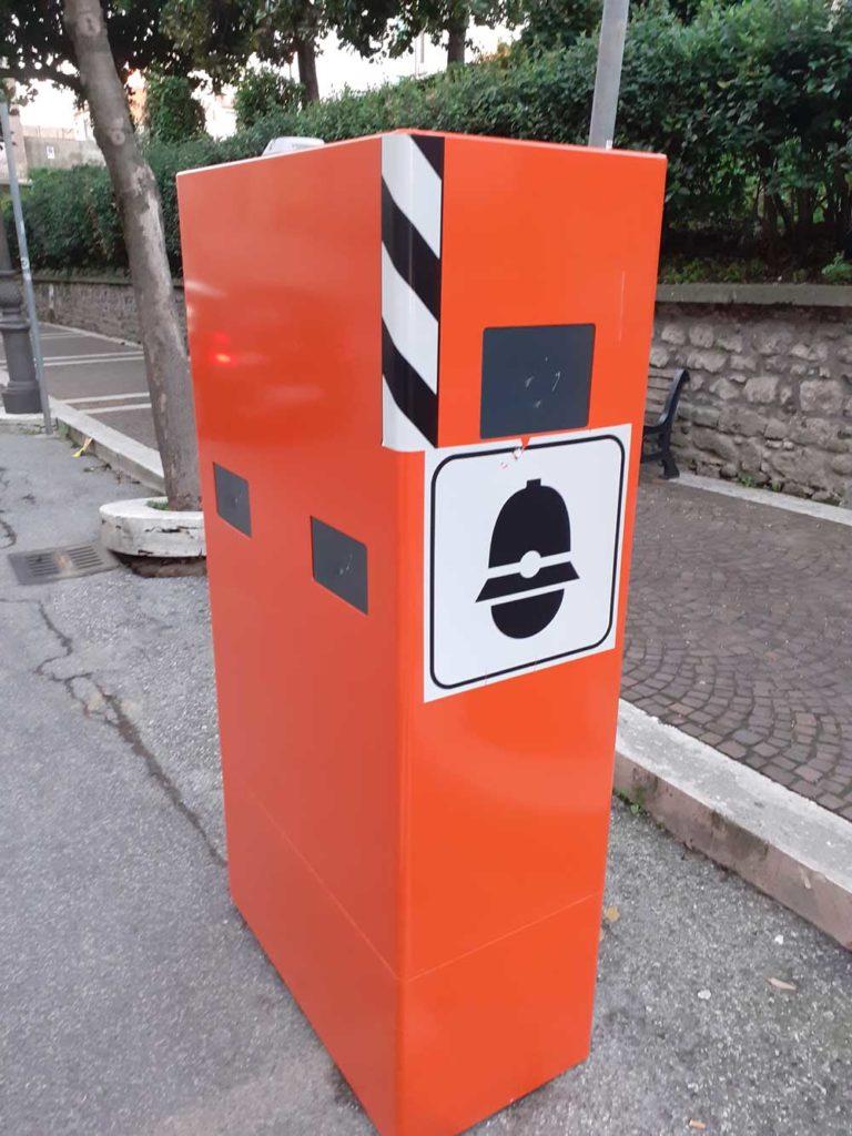 Albano: installati gli autovelox