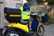 Poste italiane, NEI CASTELLI IN SERVIZIO 26 NUOVI MOTOCICLI
