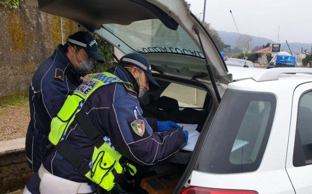 Coronavirus. Polizie Locali del Lazio in azione. Le foto del #giorno3 - #noinopossiamostareacasa #celafaremo