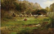 """""""Oswald Achenbach a Marino e il Fontanile d'Ammonte, il luogo del cuore"""""""