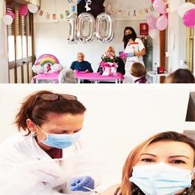 Covid-19: Villa Nina completa il programma di vaccinazione